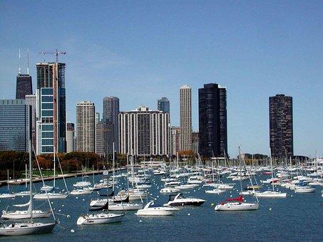 Chicago, Port, Usa