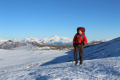 Mountain, Snow, Winter, Landscape, Cold, Mountaineering