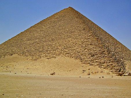 Dahshur, Egypt, Pyramids, Antiquity, Weltwunder