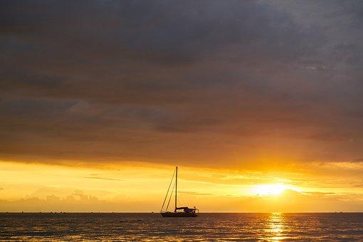 Boat, Beach, Landscape, Nature, Peace, Ship, Sky