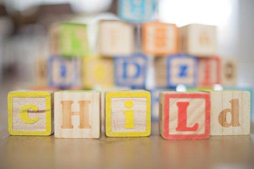 Child, Wooden, Blocks, Kid, Childhood, Fun, People