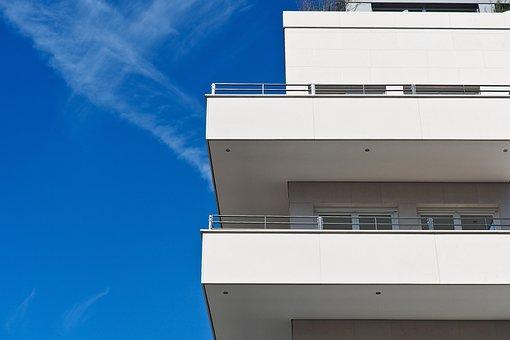 Architecture, Balconies, Home, Building, Facade, Modern