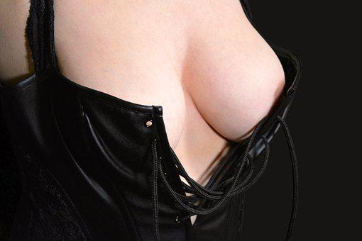 Breasts, Female, Bustier, Act, Act Of Part Of, Aktfoto