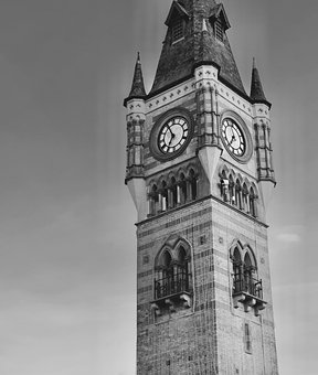 Clock, Tower, Darlington