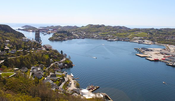 Egersund, Norway, Sea
