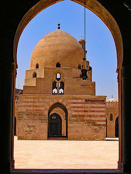 Ibn Tulun, Mosque, Cairo, Egypt, Africa, North Africa