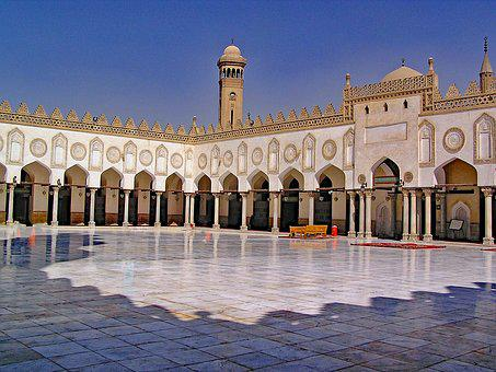 Al Azhar, Mosque, Cairo, Egypt, Africa, North Africa
