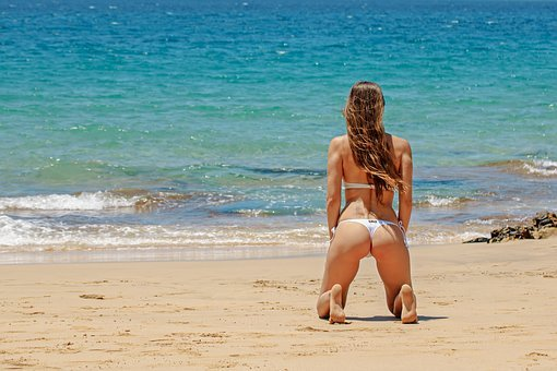 Lanzarote, Bikini, Sexy, Exposure To The Sun, Summer