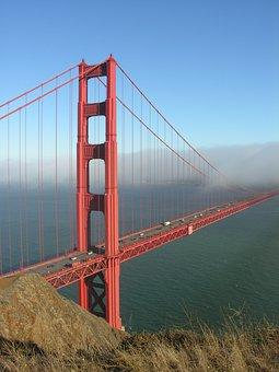 Golden Gate, Bridge, Golden Gate Bridge, Gate, Golden