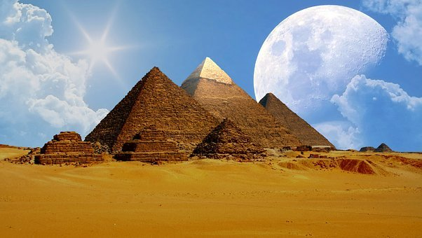Gizeh, Egypt, Cheops, Sphinx, Pyramids, Grave