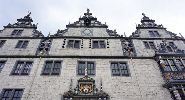 Hann, Münden, Town Hall, Beautiful, Old Town, Tourism
