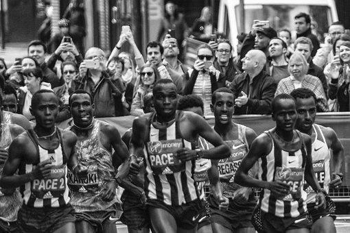 London Marathon, Elite Runners, Kenyan Runners