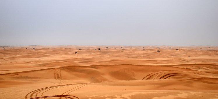 Dune, Safari, Path, Abhu Dhabi, Nature, Sand, Adventure