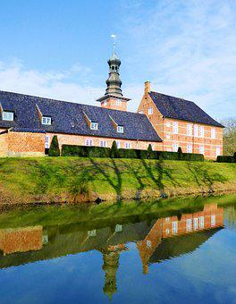 Husum, Castle, Nordfriesland, Castle Tower, Water