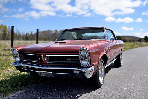 Pontiac, 1965, Lemans, Muscle Car, Nostalgia