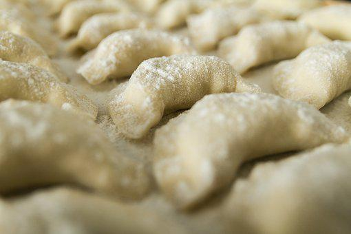 Dumplings, Raw, Uncooked, Flour, Food, Eat, Delicious