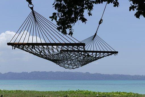 Hammock, Beach, Summer, Relaxation, Travel, Tropical