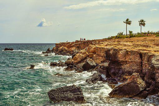 Rocky Coast, Waves, Nature, Sea, Shore, Landscape