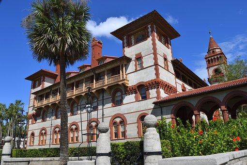 Flagler College, School, Education, Architecture