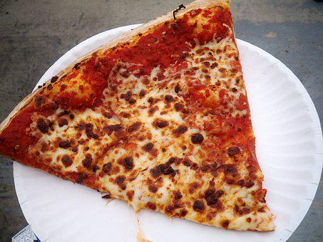 Pizza, Food, Lunch, Snack, Italian, Mozzarella, Slice