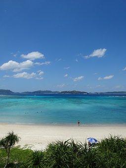 Sea, Beach, Blue Sky, South Island
