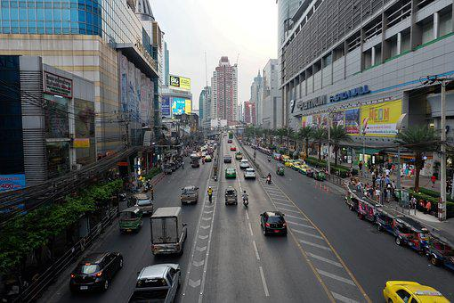 Bangkok, Thailand, Street, Bangkok Street