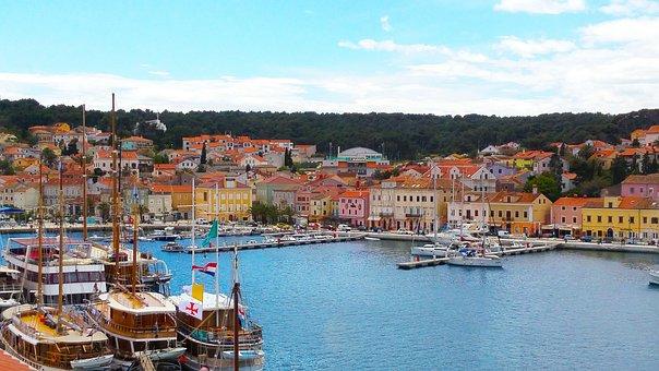Mali Losinj, City, Croatia, Island, Losinj, Town
