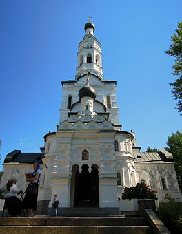 Temple, Church, Orthodoxy, White, Kazan, Mother Of God