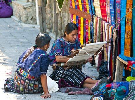 Guatemala, Atitlan, Women