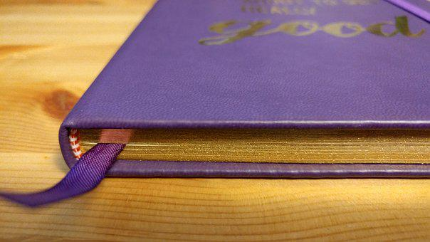 Journal, Bookmark, Writing, Placeholder, Notebook