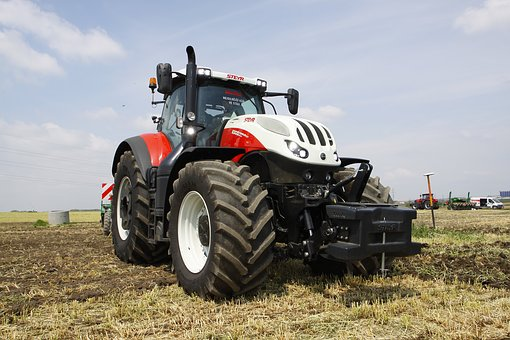 Tractor, Agriculture, Steyr 6300 Terrus Cvt