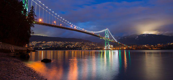 Bc, Beautiful, Bridge, British Columbia, Buildings
