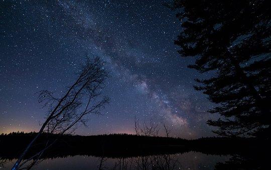 Beautiful, Blue, British Columbia, Campfire, Canada