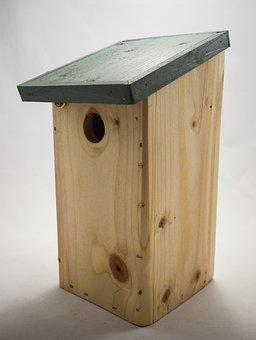 Blue Tit Nest Box, Nest Box, Bird Box, Nesting Box