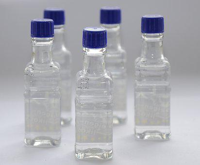 Bottles, Alcohol, Tara, Drink, Bottle, Blue