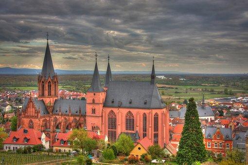 Oppenheim, Rheinland, Rheinhessen, Church