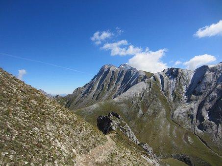 Zugspitze, Mountain, Hiking, Climb, Tyrol, Dolomites