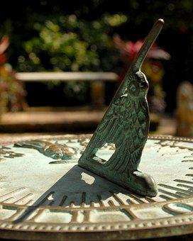 Sundial, Sun, Dial, Old, Ancient, Antique, Vintage