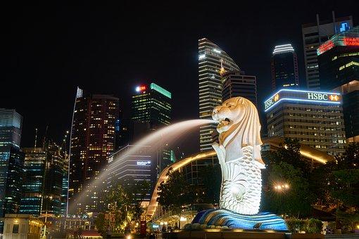 Al, Fountain, Asian, Singapore, Travel, Faith, God