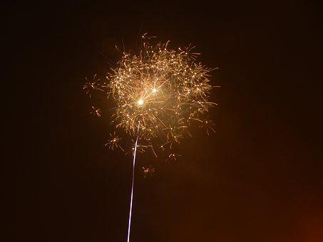 New Year's Eve, Rocket, New Year's Day, Fireworks