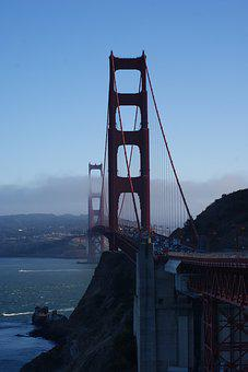 Golden Gate, Golden Gate Bridge, Gate, Golden