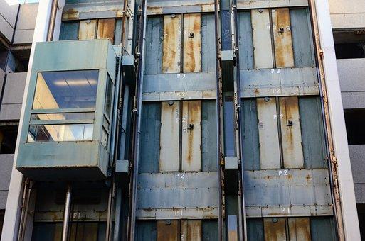 Elevator, Urban Decay, Apocalypse, Building, Industrial