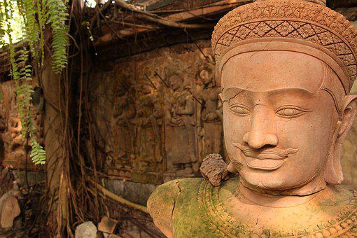 Art Million, Khmer, Clay Sculpture