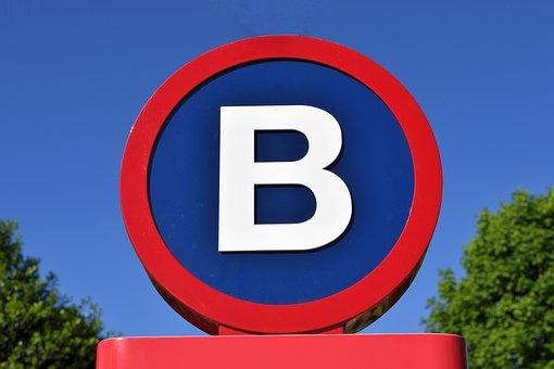 Letter B Sign, Sign, Letter, Symbol, Font, Alphabet