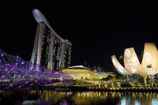 Marina Bay Sands, Hotel, Asian, Singapore, High