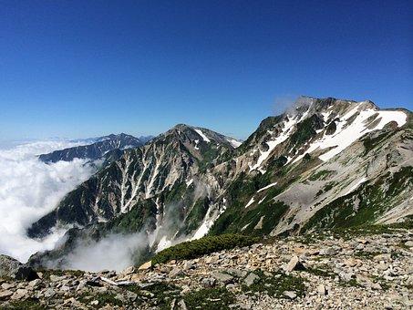 Hakuba, Mountain, Natural, Japan, Landscape, Nagano
