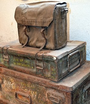 Bag, Luggage, Box, Old, Antique, Nostalgia, Weathered