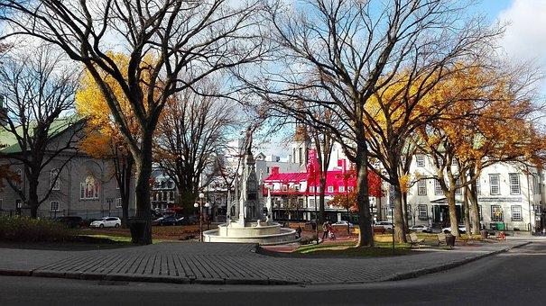 Québec, Place, Old, Old Quebec, Quebec, Canada, City
