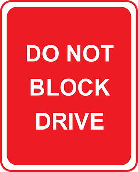 Drive, Traffic, Road, Parking, Block, Instruction, Rule