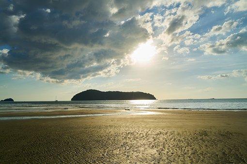 Beach, Marine, Nature, Peace, Landscape, Sky, Solar